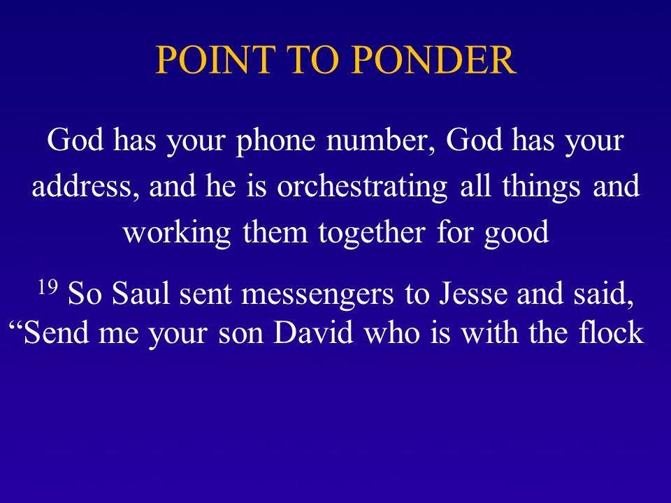 David's Spirit & Saul's Spirit Contrasted Vs.