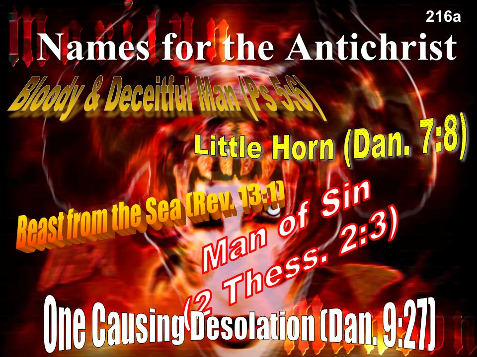 Names for the Antichrist 79 216a