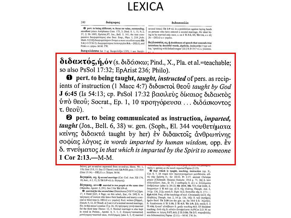 LEXICA