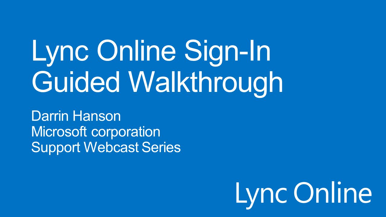 The walkthrough suggests solutions from knowledge base (KB), TechNet and Office help articles, while also referencing automated tests like the Microsoft Connectivity Analyzer (MCA) website and the Lync Online TRIPP tool for network analysis.