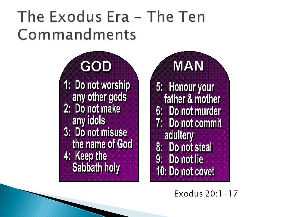 Exodus 20:1-17