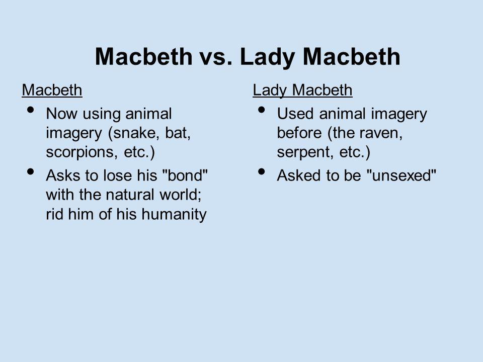 Macbeth vs.