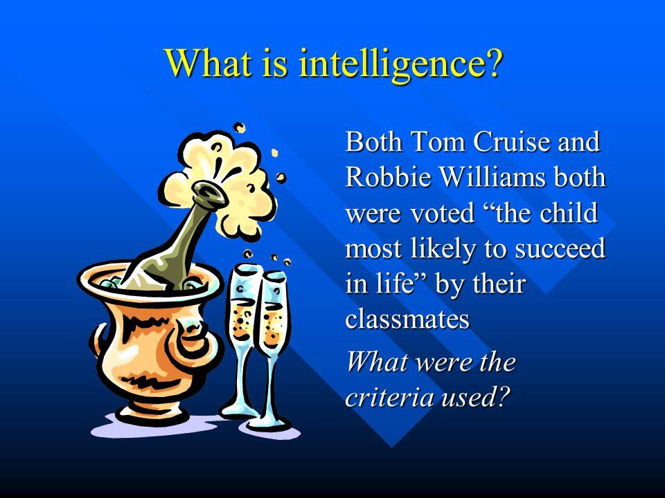 A story of intelligence.