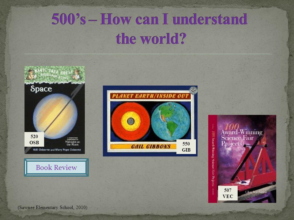 507 VEC 550 GIB Book Review (Sawnee Elementary School, 2010) 520 OSB