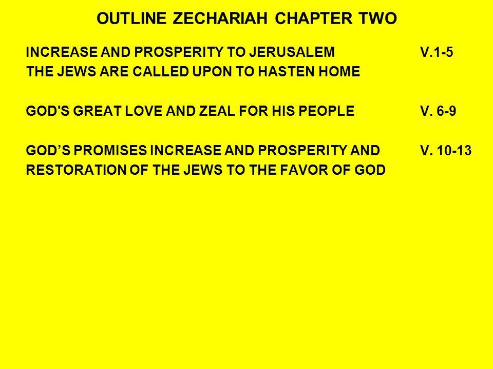 QUESTIONS:ZECHARIAH 2:5-7 6Up, up.