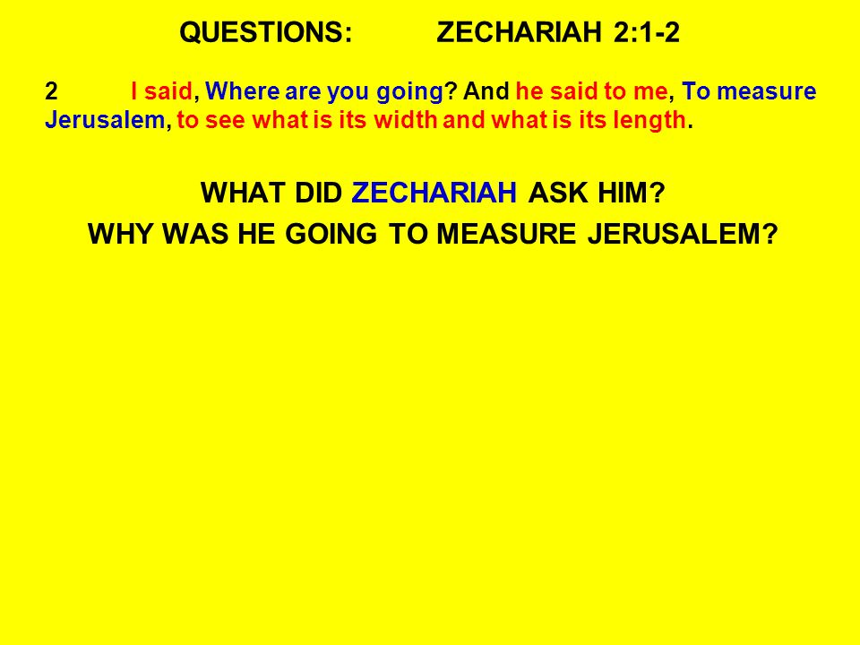 QUESTIONS:ZECHARIAH 2:8-10 8Thus says the LORD of hosts: He sent Me after glory, to the nations which plunder you; for he who touches you touches the apple of His eye.