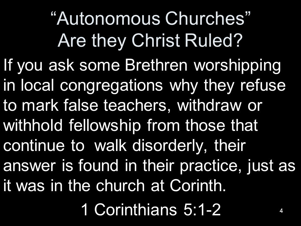 15 Don't Ask, Don't Tell Churches of Christ.