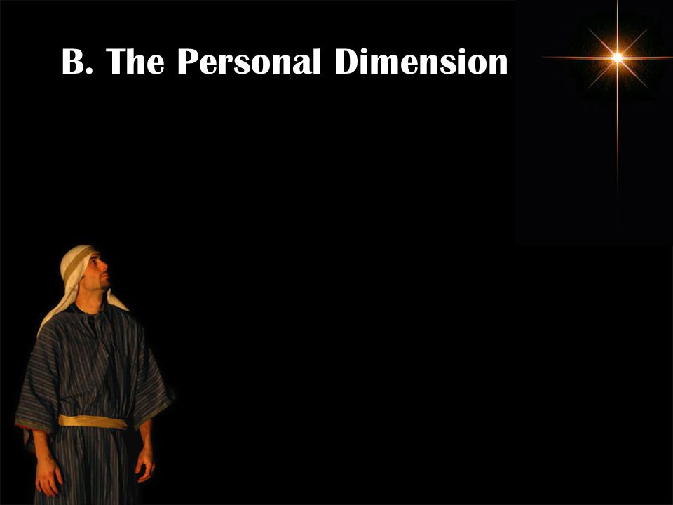 B. The Personal Dimension