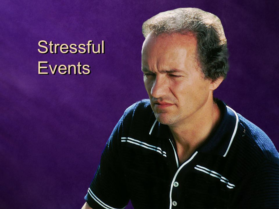 Stressful Events