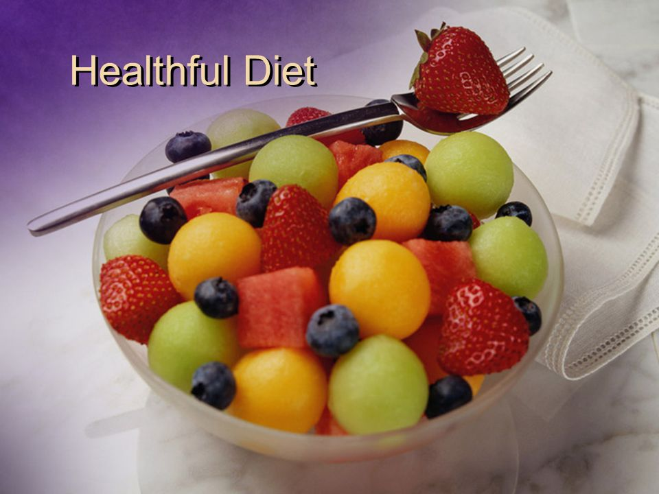Healthful Diet