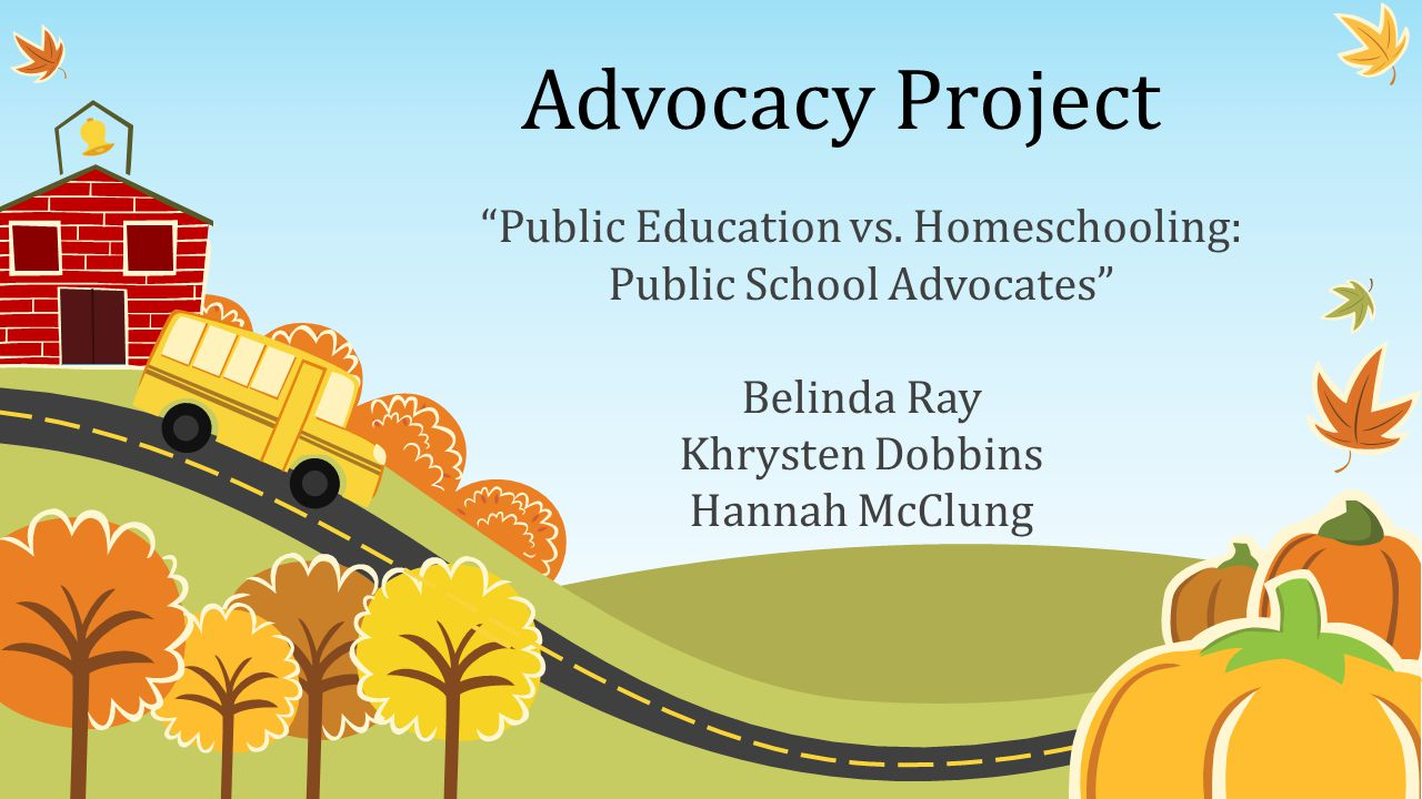 Advocacy Project Public Education vs.