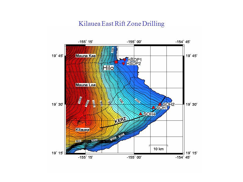 Kilauea East Rift Zone Drilling