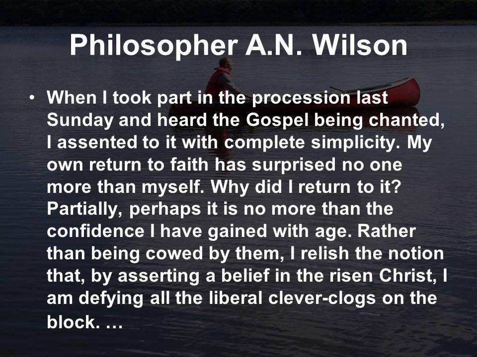 Philosopher A.N.