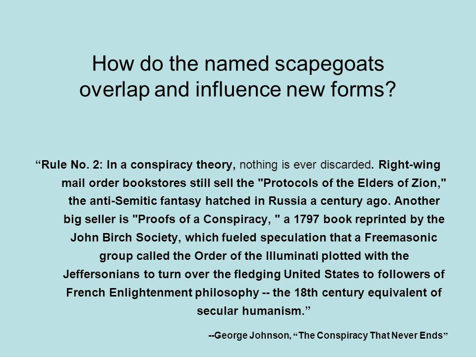 The Protocols of Conspiracism 1 Freemasons (Illuminati)