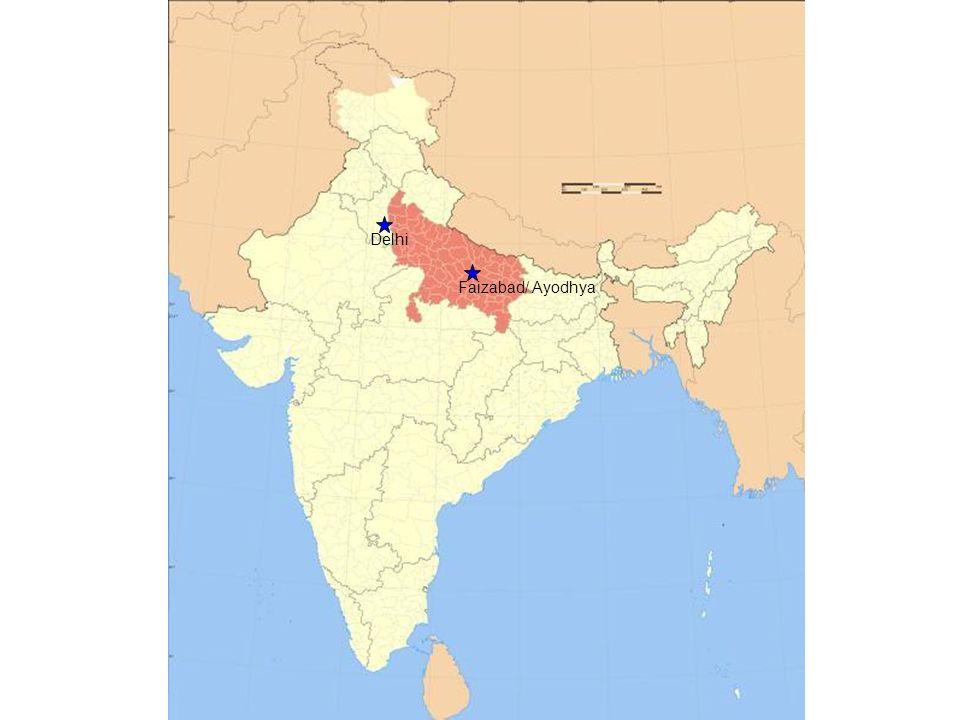 Where did I go Faizabad/ Ayodhya Delhi