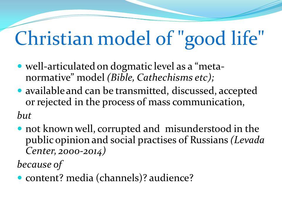 Christian model of