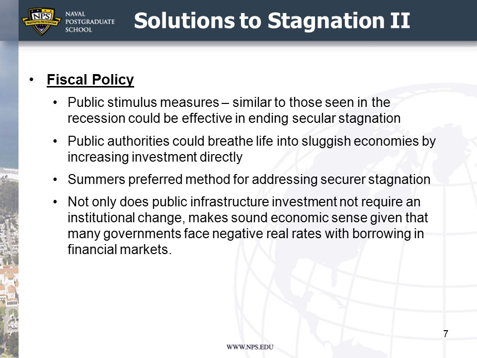 Solutions to Stagnation III Structural reforms Advocated by the OECD in 2014 Report Going for Growth.