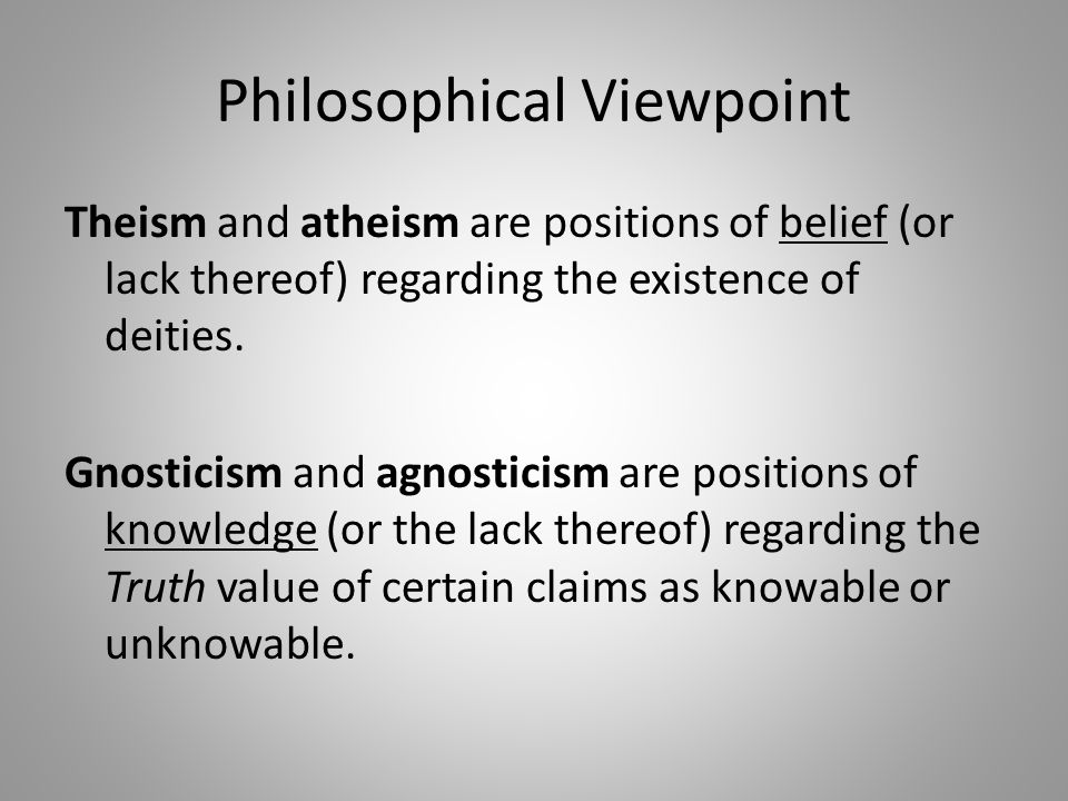 Myths and Misconceptions Myth: Atheists are closed to spiritual experience.