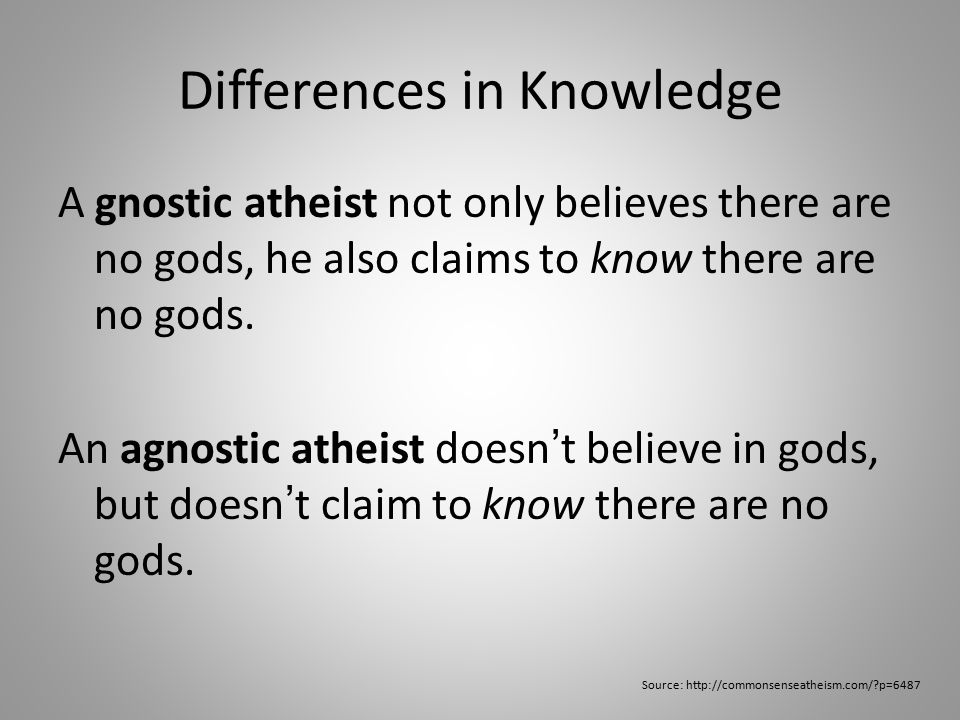 Philosophical Viewpoint Agnosticism describes the epistemological process leading to my atheist beliefs.