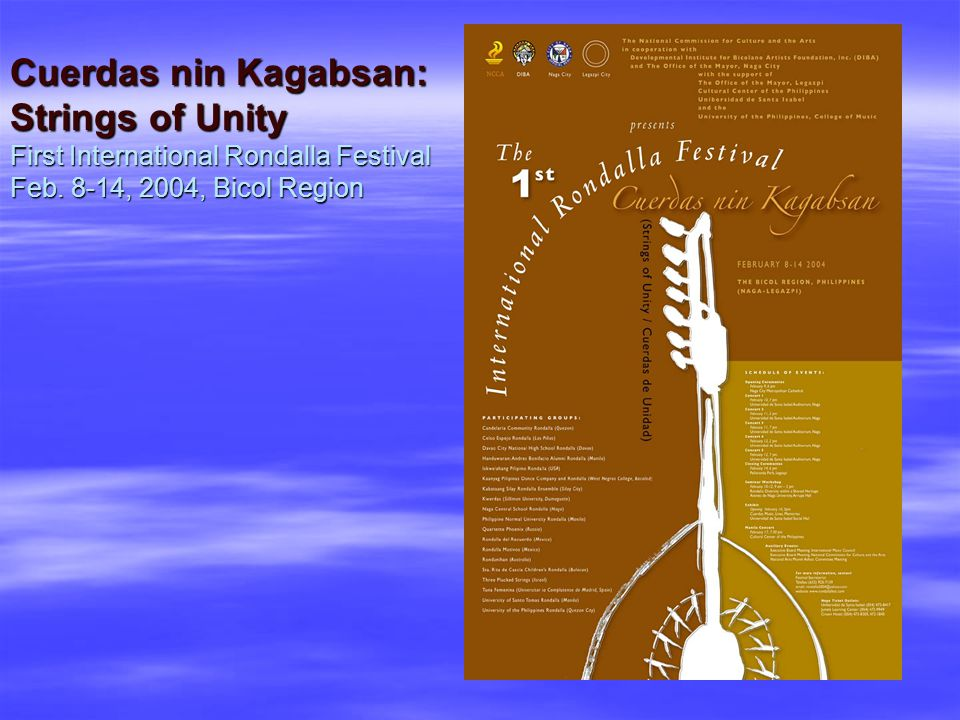 Other SAMPLES OF SECULAR FESTIVAL National Arts Festival – nationwide celebration every February National Heritage Month Independence Day celebration