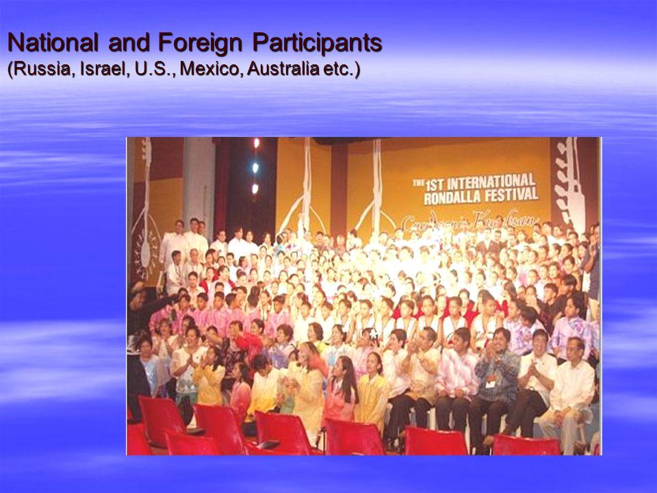 Cuerdas nin Kagabsan: Strings of Unity First International Rondalla Festival Feb. 8-14, 2004, Bicol Region