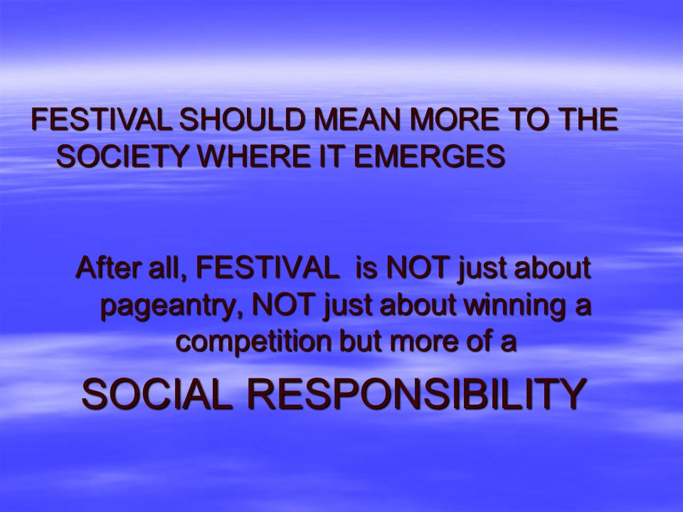 IT IS HIGH TIME TO PLAN A MORE SOULFUL CELEBRATION IT IS HIGH TIME TO PLAN A MORE SOULFUL CELEBRATION LET US START BY ASKING WHY ARE WE HOLDING THE FE