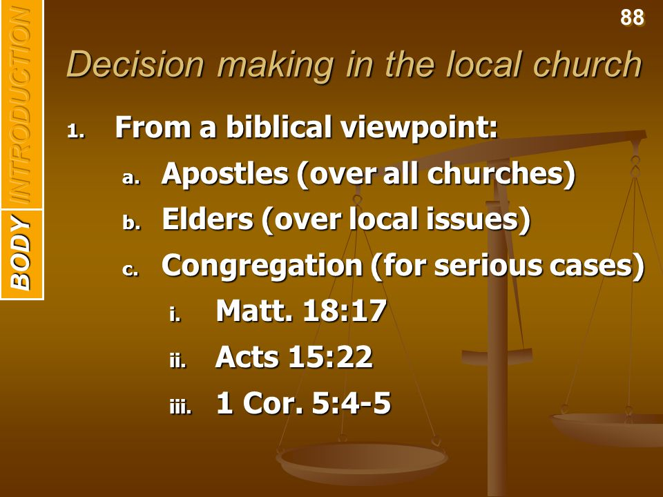 Key Decisions in Acts 15 Circumcision at the Jerusalem Council (vv.