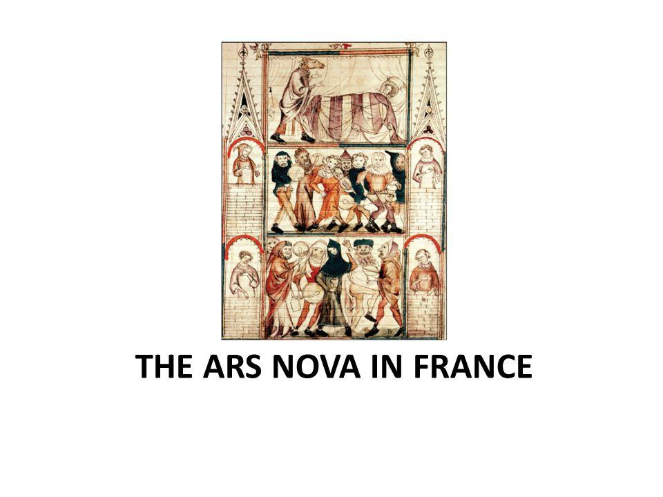 THE ARS NOVA IN FRANCE
