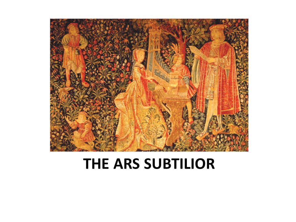 THE ARS SUBTILIOR