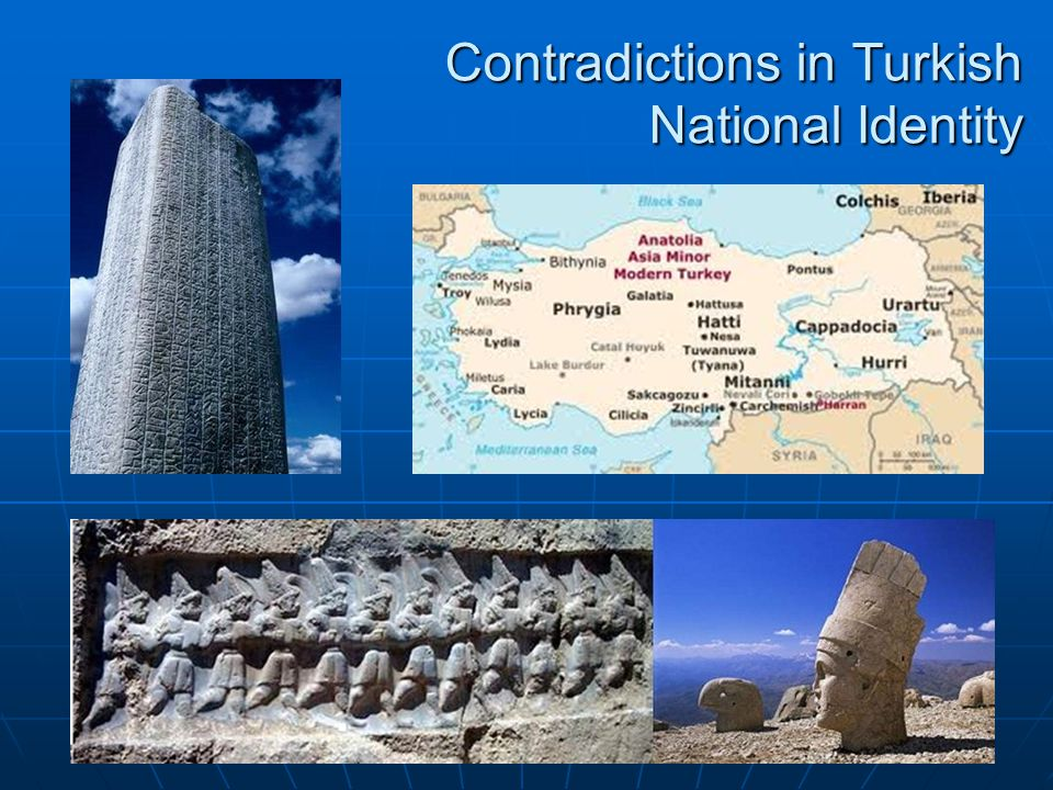 Contradictions in Turkish National Identity