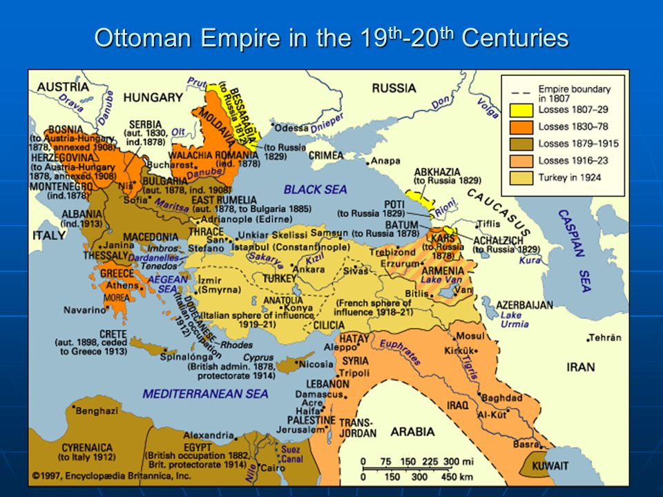 Ottoman Empire in the 19 th -20 th Centuries