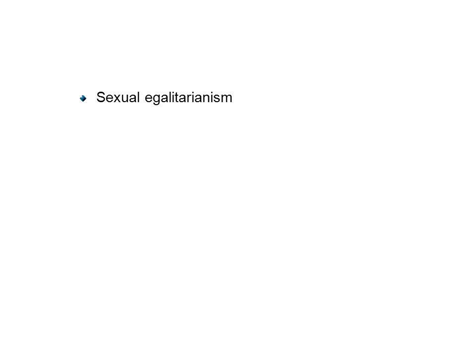 Sexual egalitarianism
