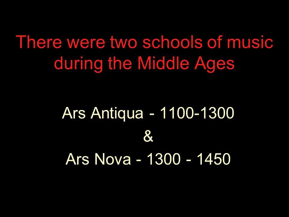 Ars Antiqua began in Paris at the Cathedral de Notre Dame