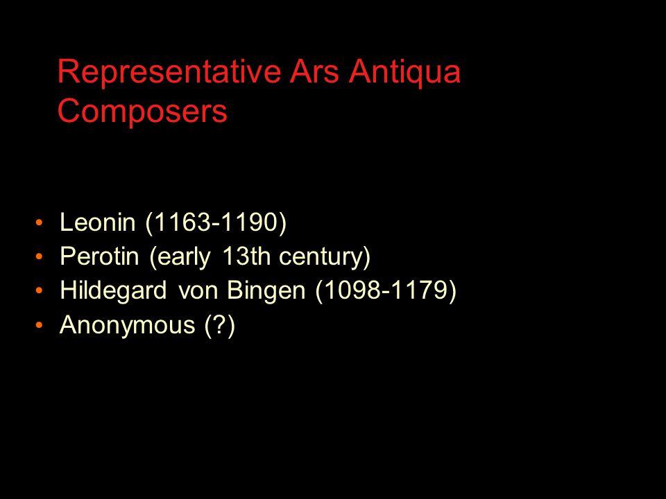 What is Ars Antiqua.