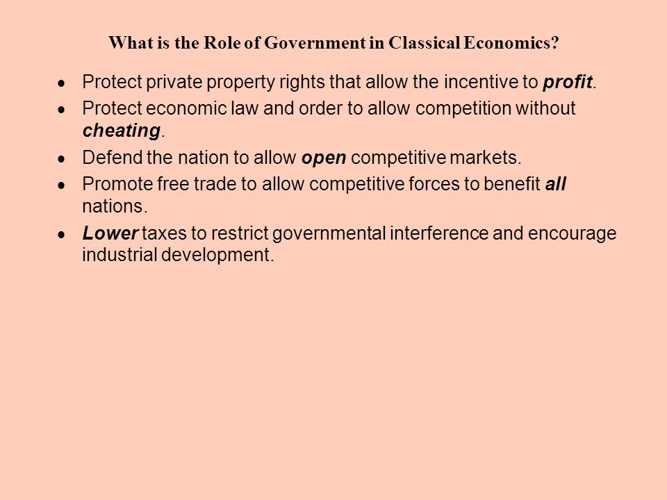 5 Keynesian Basics (Protective Tariffs, Neo-Keynesian) 1.In the long run, competition can create better standards of living for market economies.