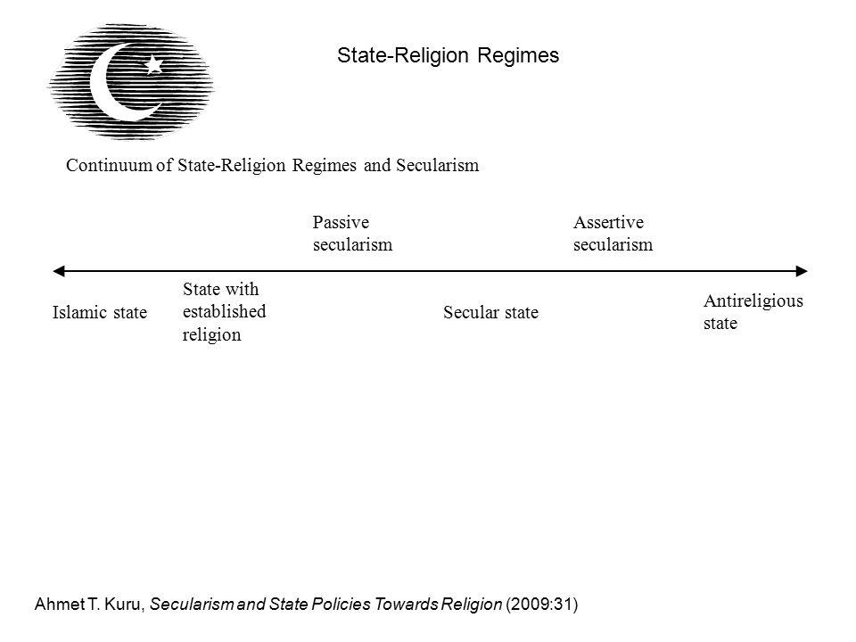 State-Religion Regimes Ahmet T.