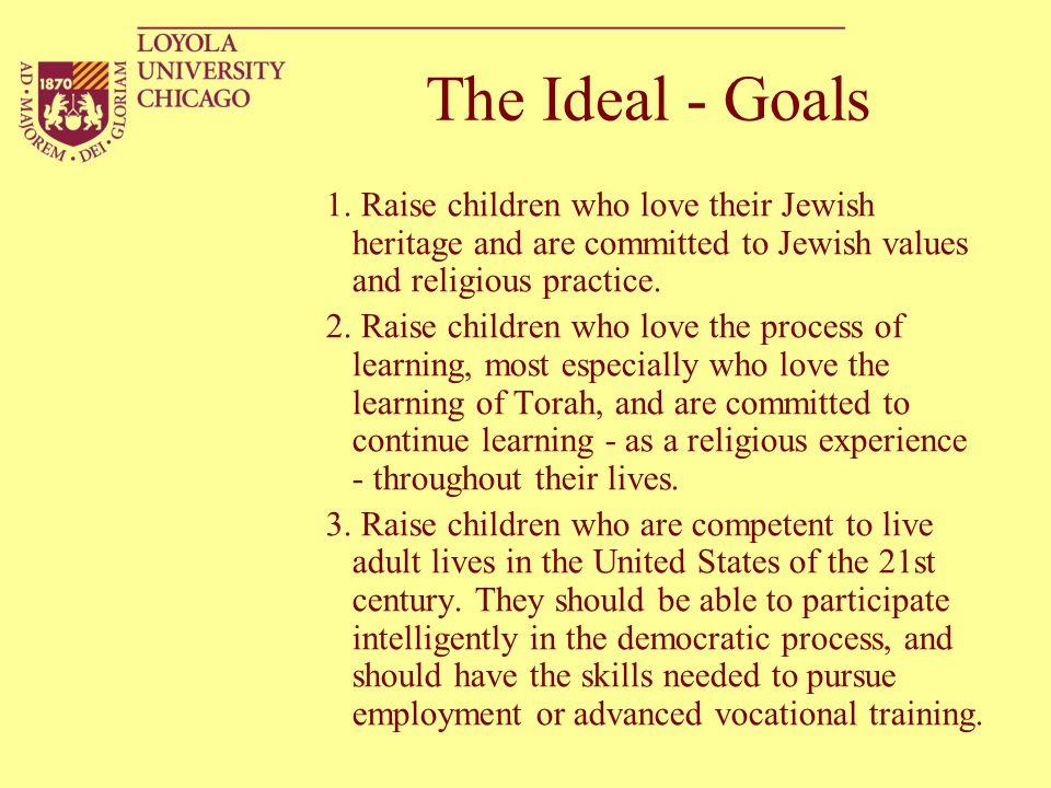 The Ideal - Goals 1.