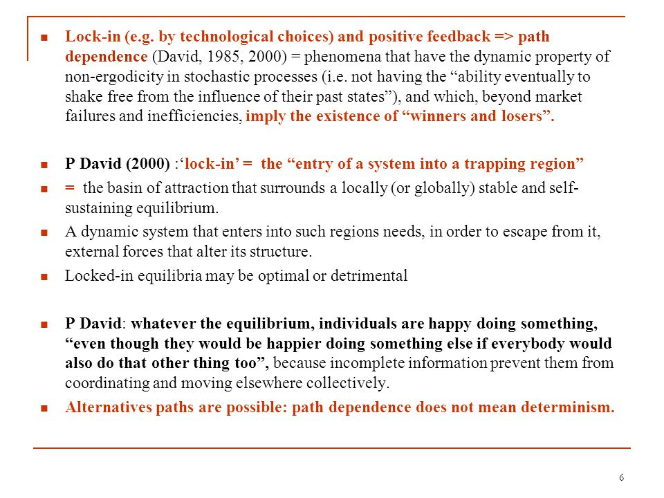 7 The recognition of traps in growth theories Some growth models: when jointly considering income and growth rate, non-linearity, multiple equilibria=salient feature of the growth process (Fiaschi-Lavezzi, 2003) Kelly (2001): Schumpeterian growth models: development =progress through a space of commodities, from simple to complex goods (linkage formation) =>thresholds: below a critical probability of linkage formation, development ceases; above, innovation continues.