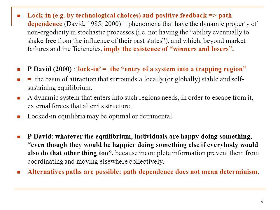 Concept of poverty trap challenged by growth 'acceleration' / 'deceleration' Hausmann et al.