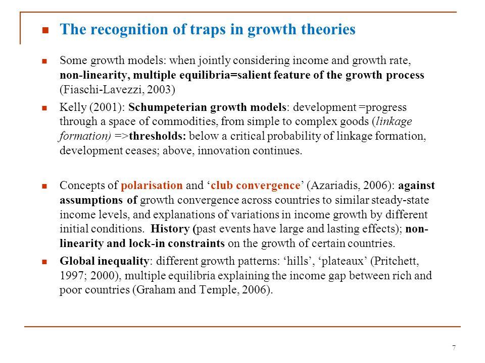 8 Figure 1: relative GDP levels vs.