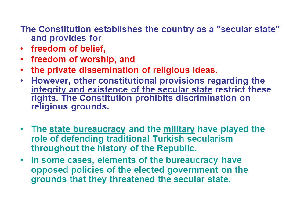 The Constitution establishes the country as a