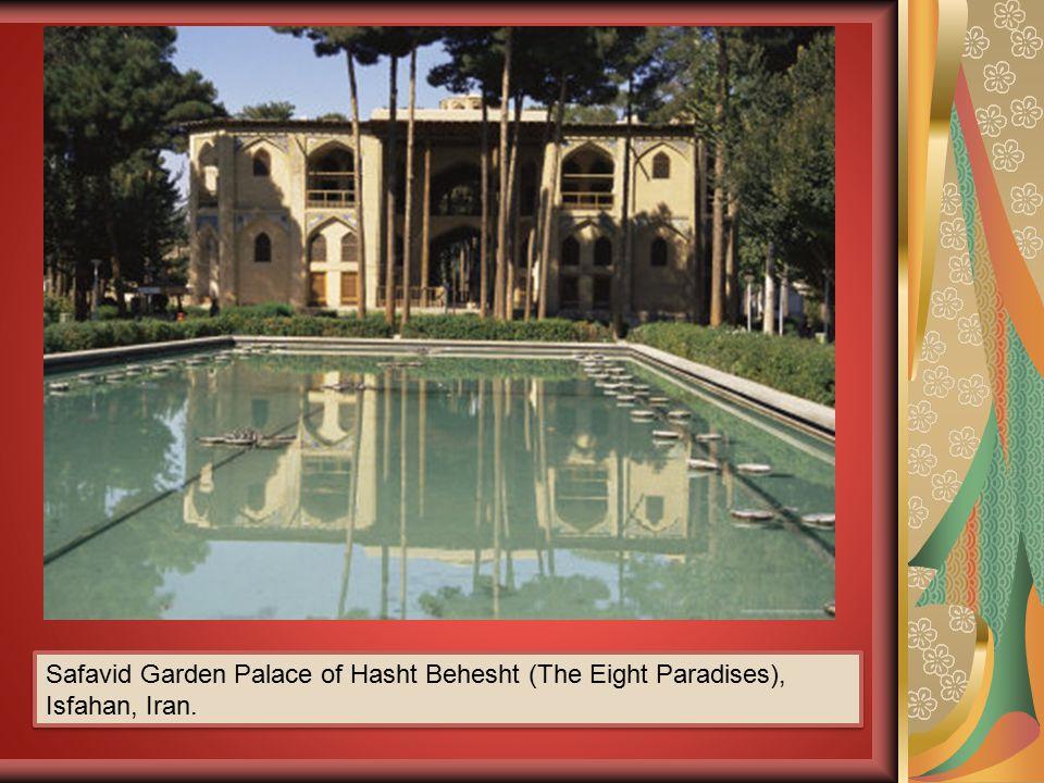 Safavid Garden Palace of Hasht Behesht (The Eight Paradises), Isfahan, Iran.