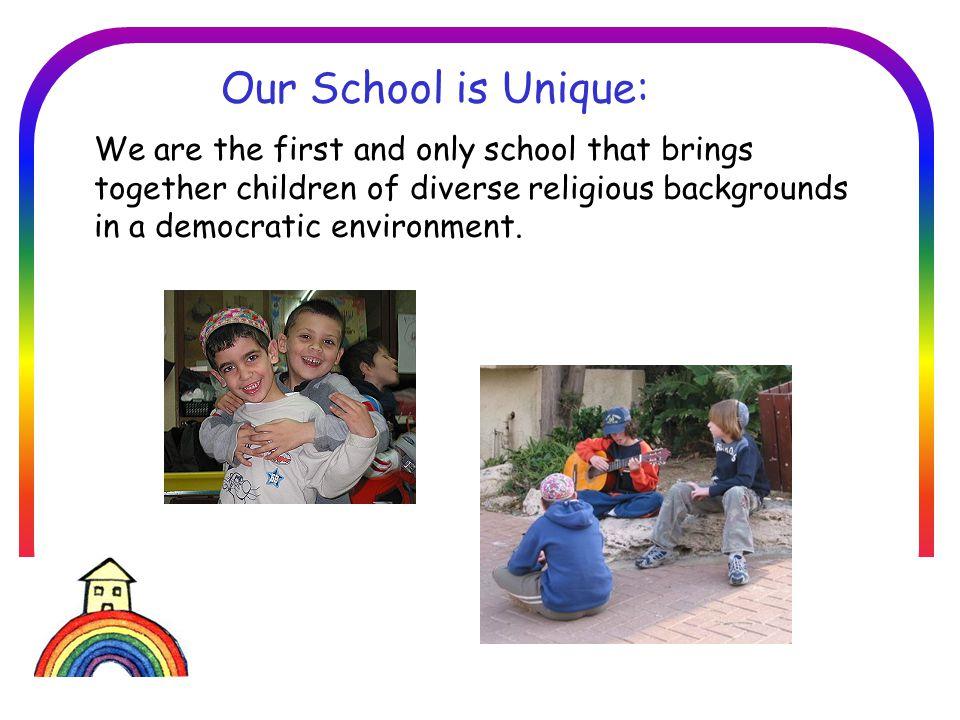 בית הספר הדמוקרטי חברתי סביבתי בזיכרון יעקב Type 1: These schools have 2 communities – secular and religious.