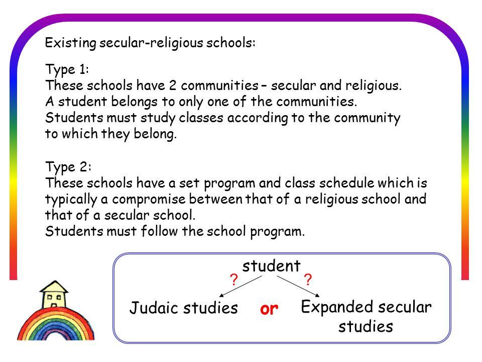 בית הספר הדמוקרטי חברתי סביבתי בזיכרון יעקב and student Secular 1Judaic 1 and Judaic 2 Judaic 3 Secular 2 Secular 3 At Keshet: A student may choose any combination of courses.