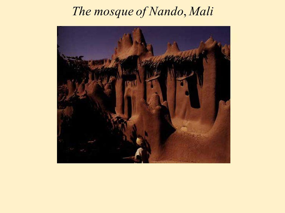 The mosque of Nando, Mali