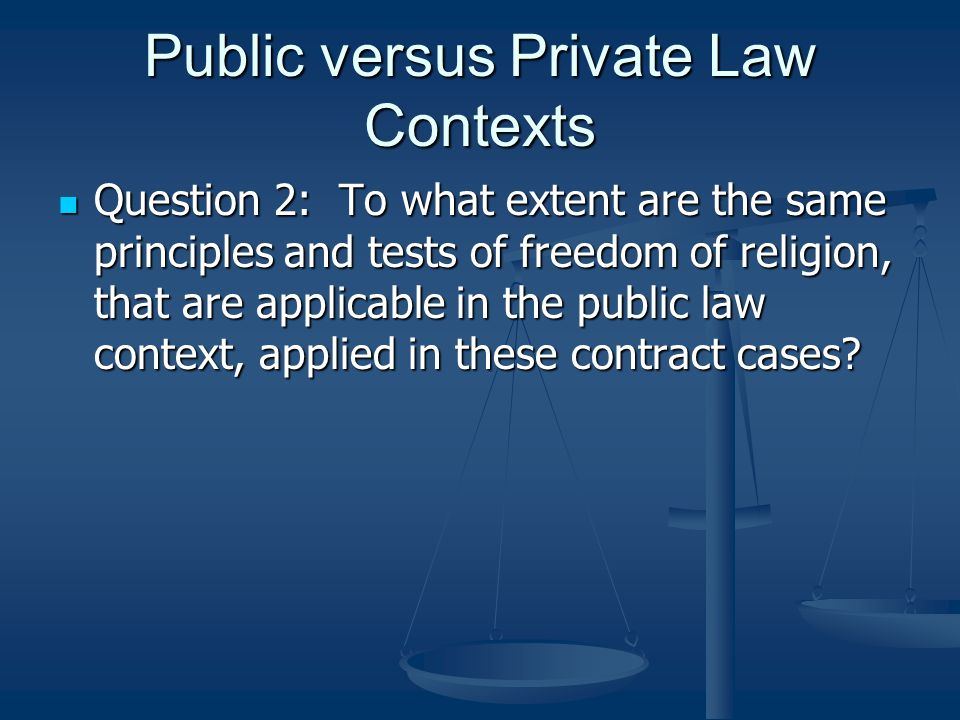 Definition of Freedom of Religion (majority Amselem) In essence, religion is about freely and deeply help personal convictions or beliefs connected to an individual's spiritual faith… In essence, religion is about freely and deeply help personal convictions or beliefs connected to an individual's spiritual faith… Freedom of religion is the freedom to undertake practices and harbour beliefs, having a nexus with religion, in which an individual demonstrates he or she sincerely believes or is sincerely undertaking in order to connect with the divine Freedom of religion is the freedom to undertake practices and harbour beliefs, having a nexus with religion, in which an individual demonstrates he or she sincerely believes or is sincerely undertaking in order to connect with the divine