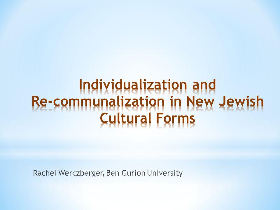 Rachel Werczberger, Ben Gurion University