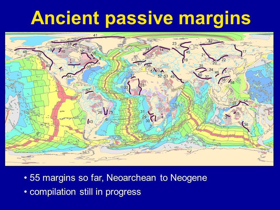 Wopmay Orogen— Paleoproterozoic arc-passive margin collision Hoffman & Bowring, 1981