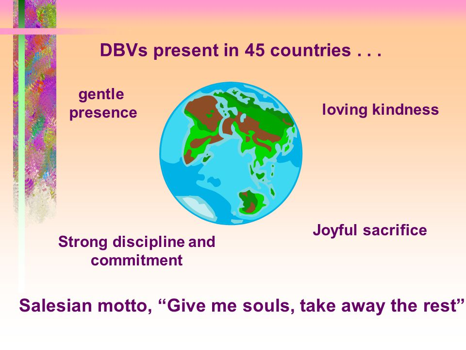DBVs present in 45 countries...