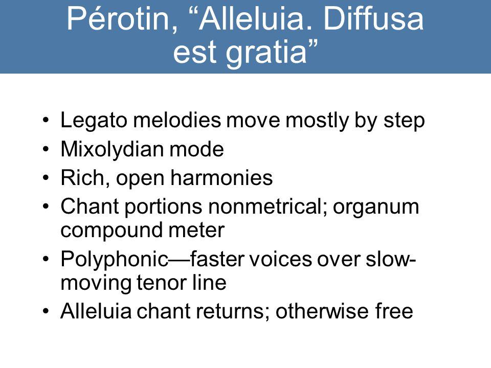 Pérotin, Alleluia.
